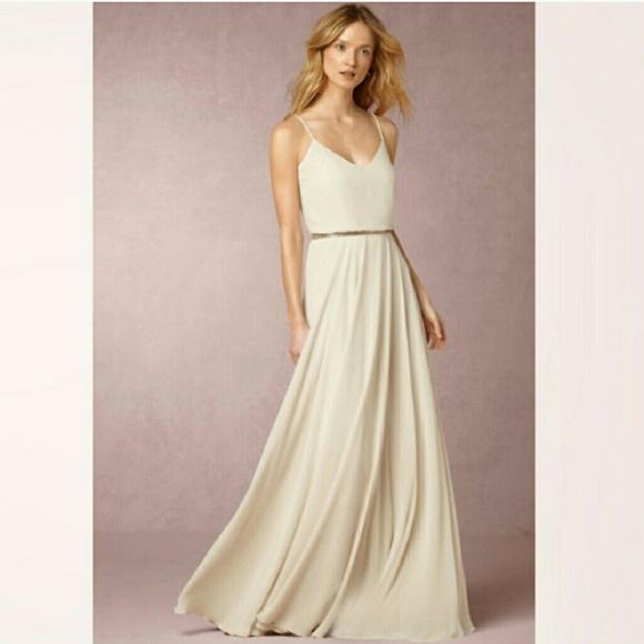 Jenny Yoo Dresses | Nadya Ivory Cream Dress Sz 8 | Poshmark